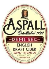 Aspall Demi-Sec beer Label Full Size