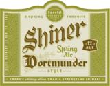 Shiner Dortmunder Style Spring Ale beer