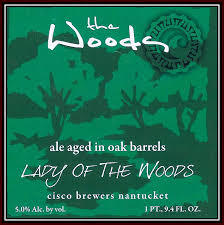 Cisco Lady of the Woods beer Label Full Size