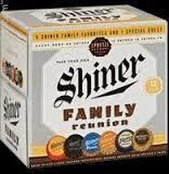 Shiner Family Reunion Variety Pack beer
