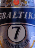 Baltika No.7 Export beer