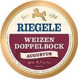 Riegele Weizendopplebock beer