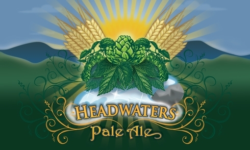 Victory Headwaters beer Label Full Size