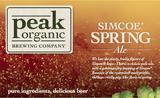 Peak Organic Simcoe Spring Beer