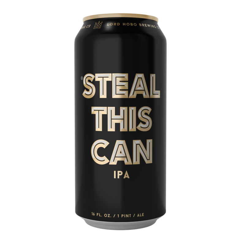 Lord Hobo Steal This Can Beer