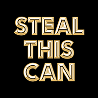 Lord Hobo Steal This Can beer Label Full Size