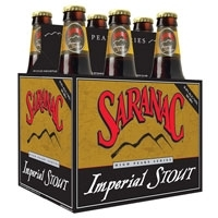 Saranac High Peaks Imperial Stout beer Label Full Size