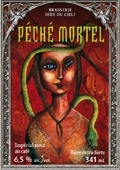 Dieu du Ciel Peche Mortel beer Label Full Size