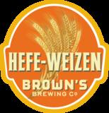 Brown's Hefeweizen beer