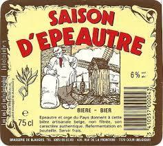Blaugies Saison dEpeautre beer Label Full Size