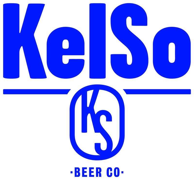 Kelso IPA Dry Hopped With Simcoe beer Label Full Size