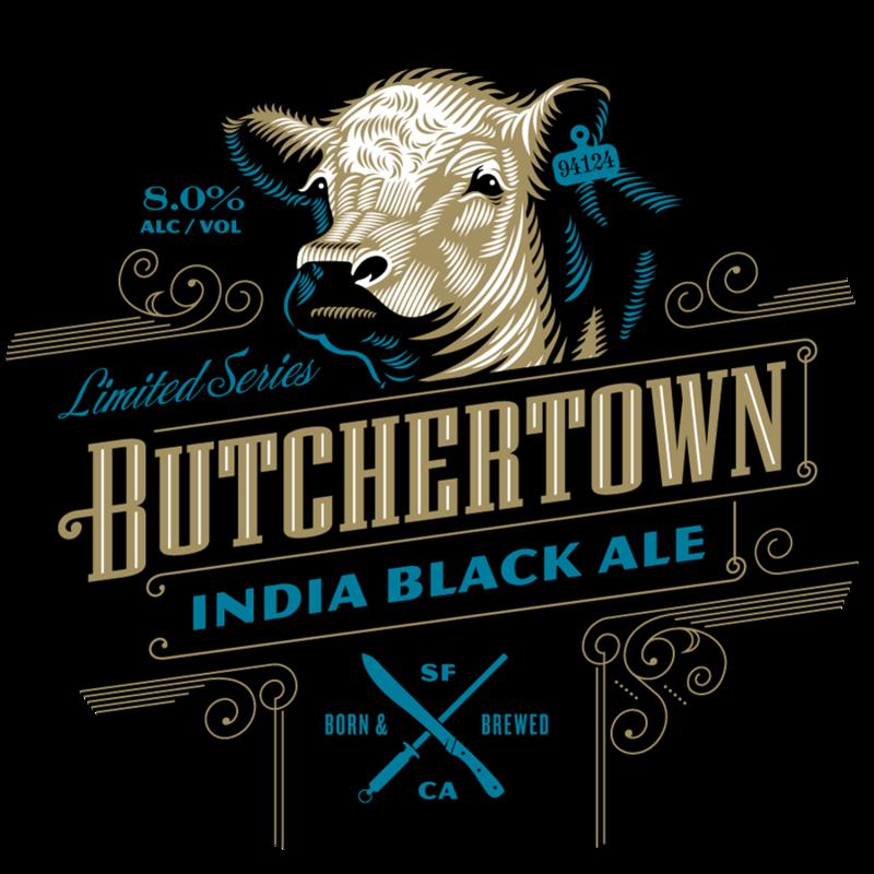 Speakeasy Butchertown India Black Ale beer Label Full Size