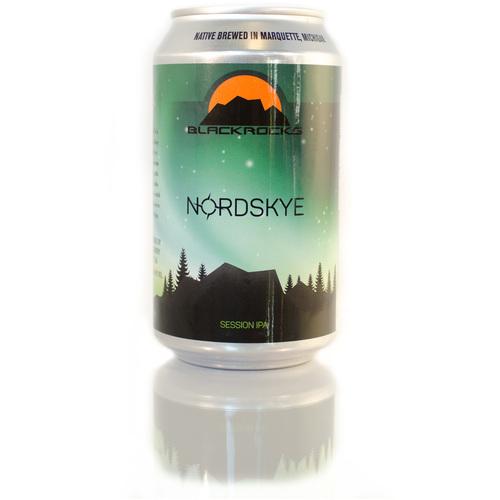 Blackrocks Nord Skye beer Label Full Size