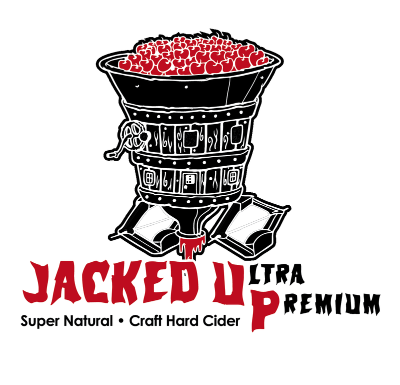 Crimson Sunset Jacked UP: Pineapple beer Label Full Size