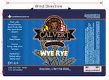 Calvert Wye Rye Beer