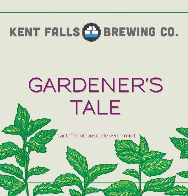 Kent Falls Gardener's Tale beer Label Full Size