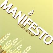 Eagle Rock Manifesto Wit beer Label Full Size