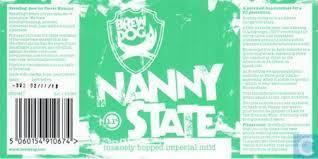 BrewDog Nanny State beer Label Full Size
