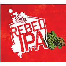 Sam Adams Rebel IPA beer Label Full Size