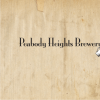 Peabody Heights Brewery