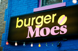 Thumb burger moe s