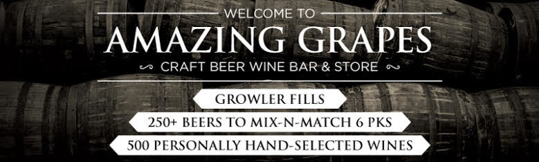 Amazing grapes craft beer wine bar n retail store