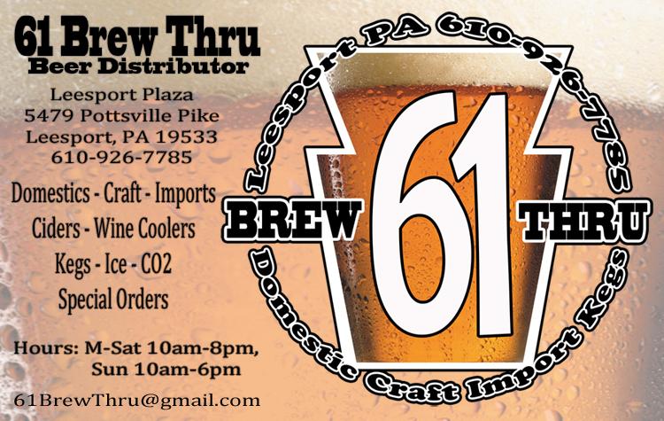 61 brew thru