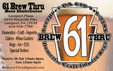 Thumb 61 brew thru
