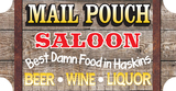 Thumb mail pouch saloon