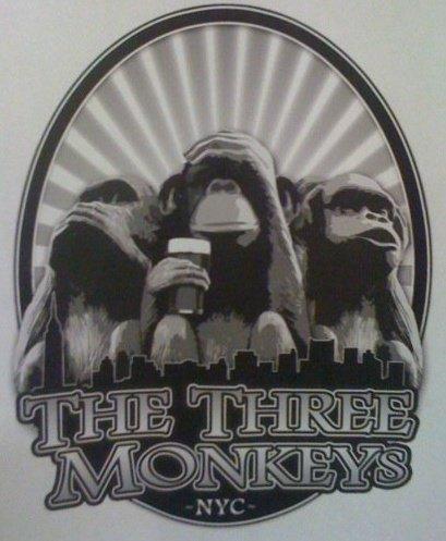 The three monkeys bar