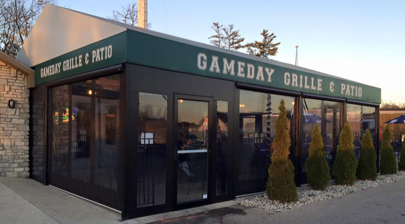 Gameday grille and patio