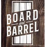 Thumb board and barrel