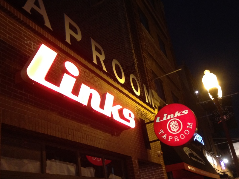 Links taproom