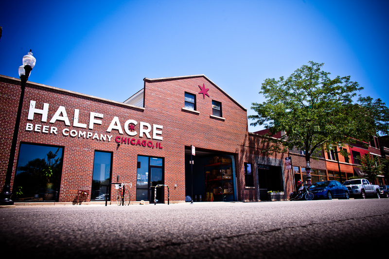 Half acre beer company tap room