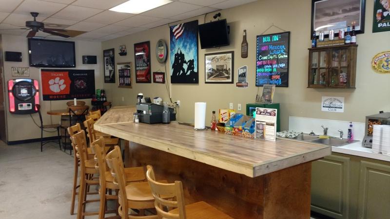 Zeddie s party shop bar