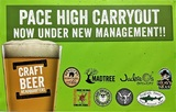 Thumb pace high carryout