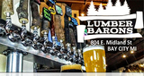 Thumb lumber barons brewery rusty saw smokhouse