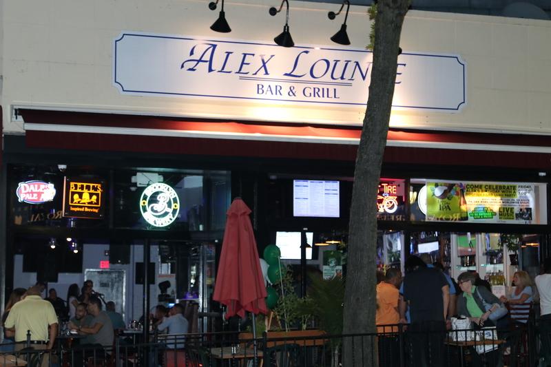 Alex lounge bar grill