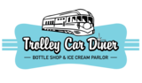 Thumb trolley car diner bottle shop