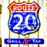 Thumb route 20 grill and tap