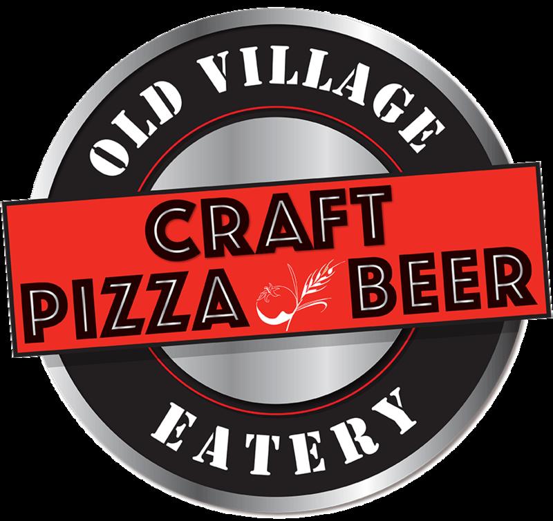 Craft pizza beer