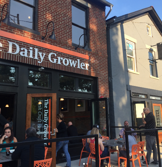 The daily growler german village brewery district
