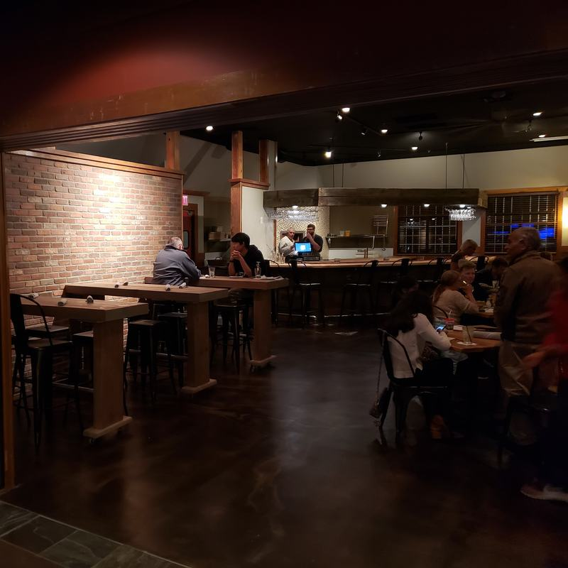 Suburban bar kitchen