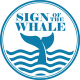 Thumb sign of the whale
