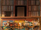 Thumb the vinyl room