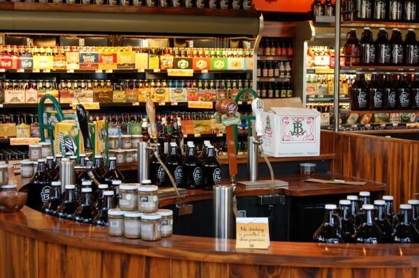 Wholefoods beer room bowery