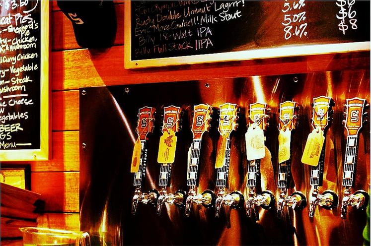 Taproom at singlecut beersmiths