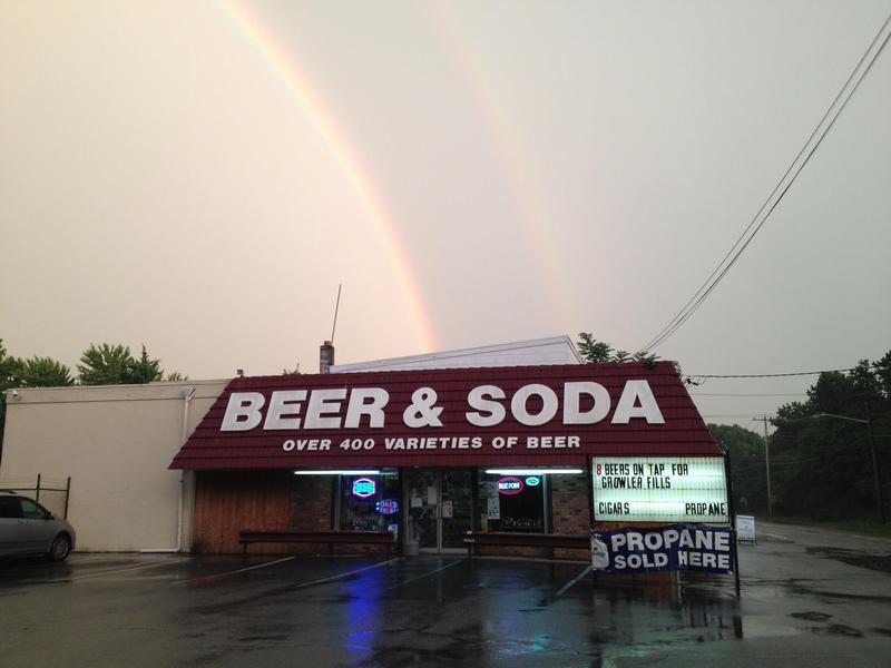 Bellport cold beer soda