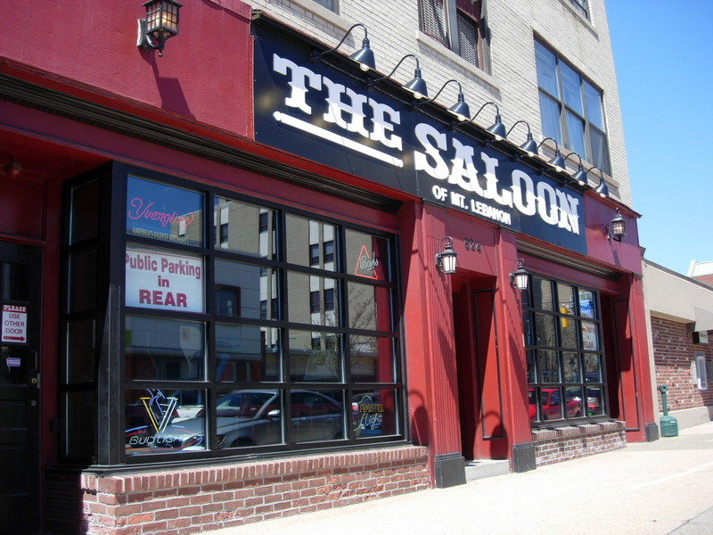The saloon of mt lebanon