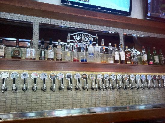 American tap room clarendon
